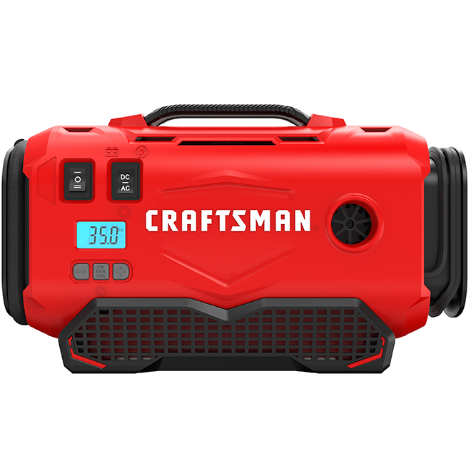 Electric Inflator - 20 V Max - Red and Black