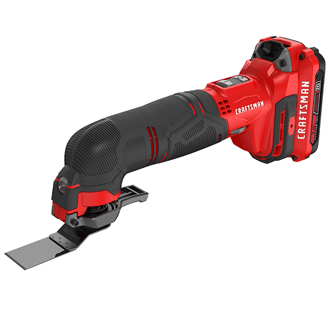 Craftsman Cordless Oscillating Tool - V20 Max - 14 Pieces