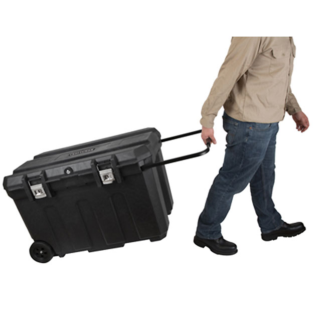 Wheeled Locakable Tool Box - 50 Gal. - Black