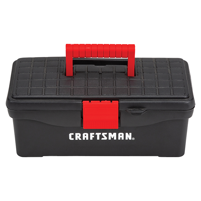 """Classic Tool Box - 13"""" - Black and Red"""