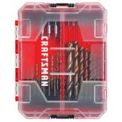 Drill and Drive Bit Set - Red and Black - 85/Pack