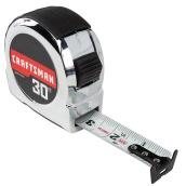 Classic Tape Measure - 1'' x 30'- Chrome