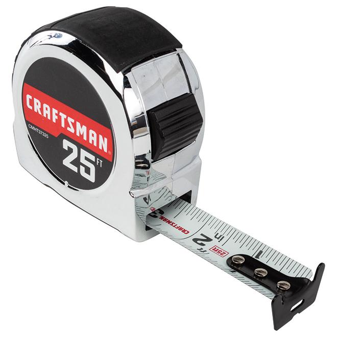 Classic Tape Measure - 1'' x 25' - Chrome
