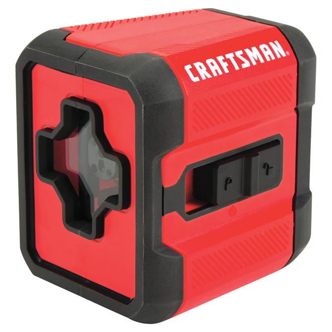 Laser rouge en croix, portée de 36' x 100°