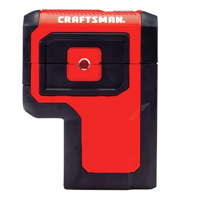 Laser autonivelant Craftsman, 3 points rouges, 100'