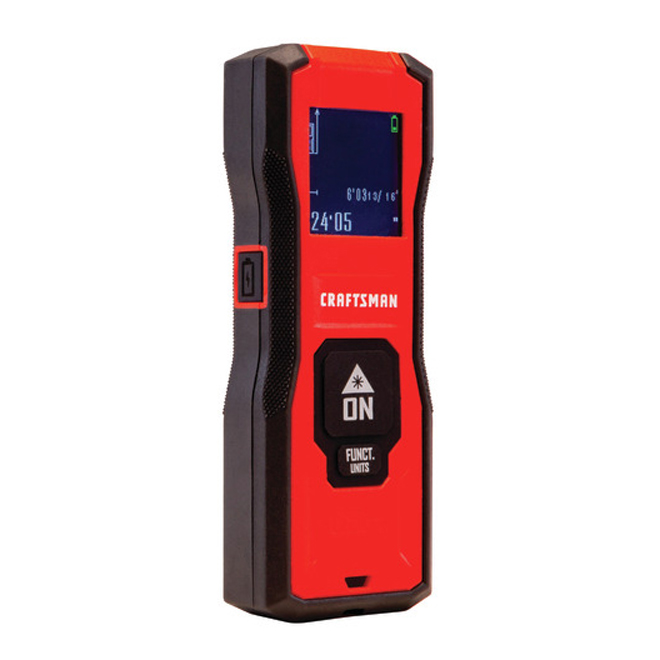 Laser Distance Measurer - Area and Volume - 65' Range