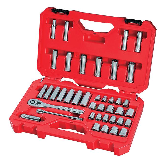 "Mechanic Tool Set - 3/8"" - 40 Pieces"