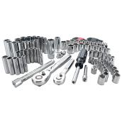"Mechanic Tool Set - 1/4""and 3/8"" - 105 Pieces"