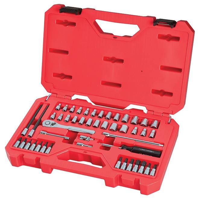 "Mechanic Tool Set - 1/4"" - 48 Pieces"