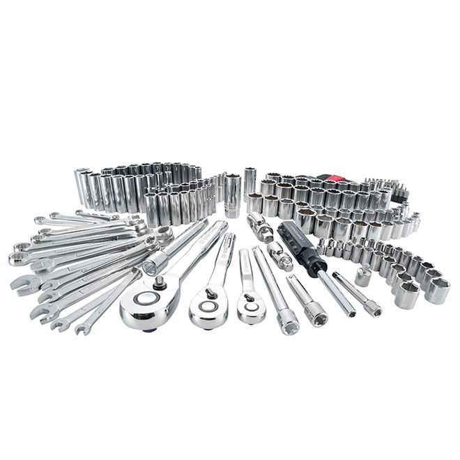Mechanic Tool Set - 3 Drives - 189 Pieces