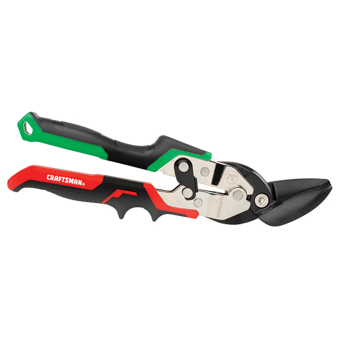 Aviation Snips - Offset Right Cut - Red and Green