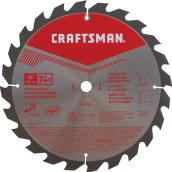 "Saw Blade - Carbide - 10"" - 24 TH"