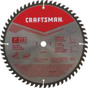 "Circular Saw Blade - Carbide - 10"" - 60 TH"