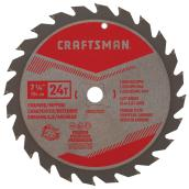 "Saw Blade - Carbide - 7 1/4"" - 24 TH"