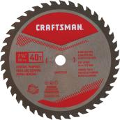"Saw Blade - Carbide - 7 1/4"" - 40 TH"