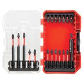 Bit Driving Set - Red and Black - 20/Pack
