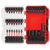 Bit Driving Set - Red and Black - 33/Pack