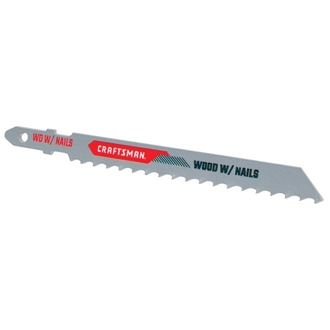 "T-Shank Jigsaw Blade - Bi-Metal - 4"" x 6 TPI - 2/PK"