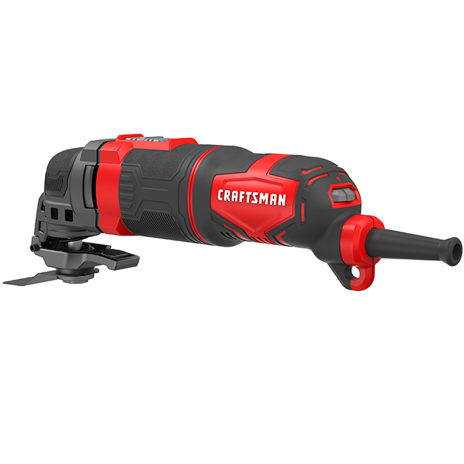 Corded Oscillating Tool - 3 A - 22,000 OPM - 11 Accessories