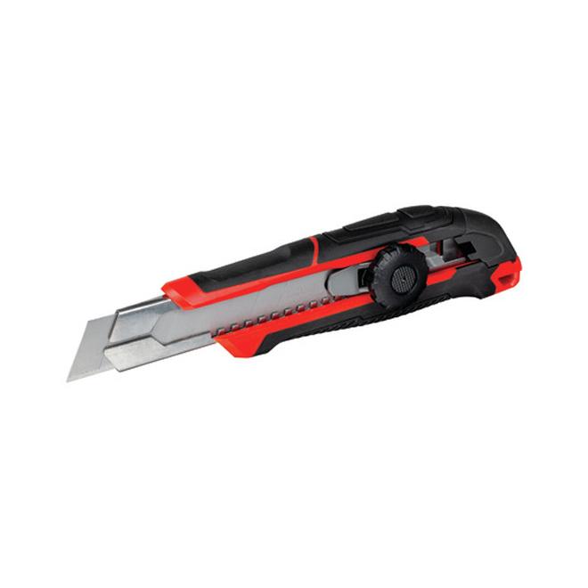 Couteau utilitaire à lame cassable, 18 mm, 1 lame
