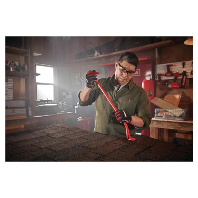 """Spring Steel Pry Bars - 24"""" - Steel - Red"""