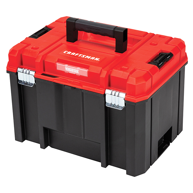 Deep Tool Box - Black and Red