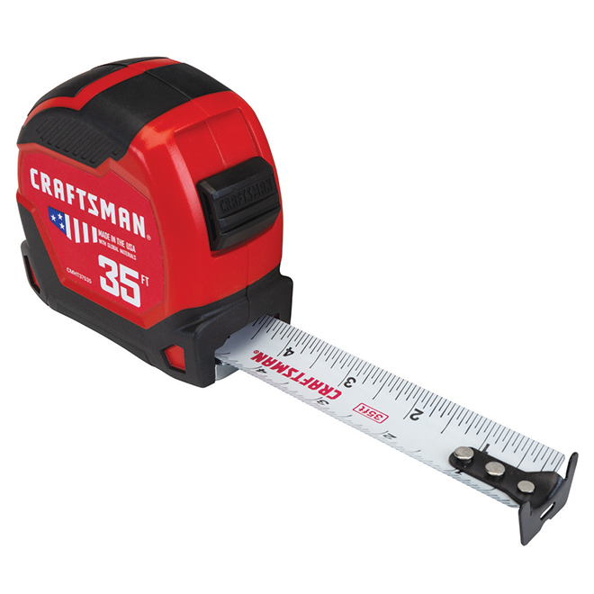 PRO-11 Measuring Tape - 1.25'' x 35' - Red