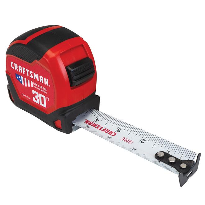Ruban à mesurer PRO-11, 1,25'' X 30', rouge