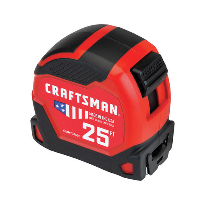 PRO-11 Measuring Tape - 1.25'' x 25' - Red