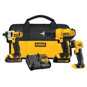20V Max - Lithium Ion 3-Tool Combo Kit