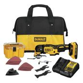 Dewalt Oscillating Multi-Function Kit - 20 V XR - 3 Speeds