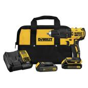 "Dewalt Hammer Drill Kit - Lithium-Ion Battery - 1/2"" - 20 V"