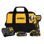 Dewalt Brushless Impact Driver - Lithium-Ion 20 V - 1/4''