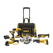 Dewalt 20V MAX Cordless 7-Tool Combo with Safety Storage