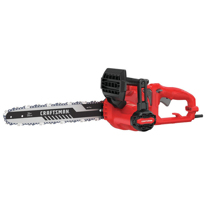 Craftsman Electric Chainsaw - 8.0 A - 14-in