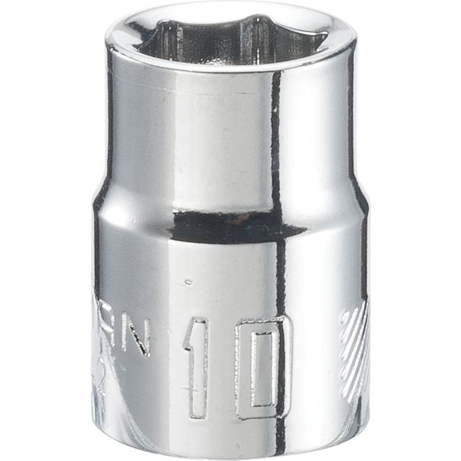 Craftsman 6-Point Socket - Steel - 10 mm x 3/8-in Drive