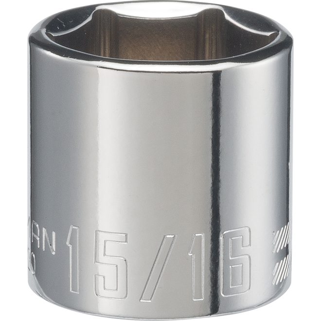 Craftsman 6-Point SAE Socket - Steel - 15/16-in x 3/8-in Drive