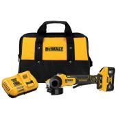 DeWalt Power Detect 20V MAX Cordless Angle Grinder with Brushless Motor - Battery and Charger - 4.5-in
