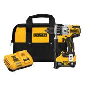 Perceuse à percussion sans-fil Dewalt Power Detect avec moteur sans balais, 0,5 po, 20V Max XR Lithium-Ion