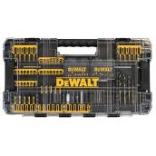 Dewalt Bits + Drill Bit Set Flex Torq - Steel - 100 Pices