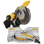 Dewalt Dual Bevel Compound Mitre Saw - 12-in - 15 A Motor