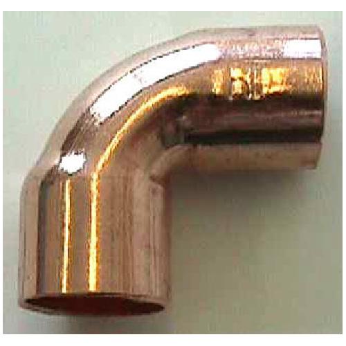 "Coude de cuivre, 1/2x3/8"", 90°"