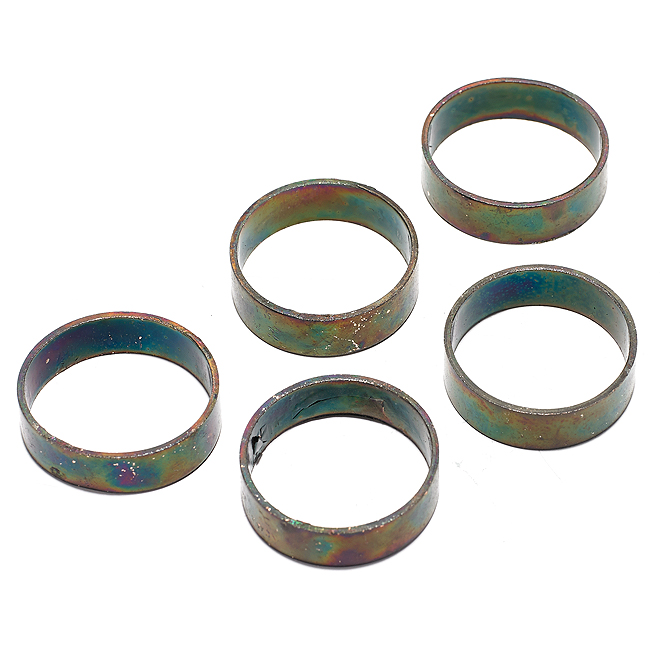 """Compression Ring - PEX Crimp - 1"""" - 5/Pk - Black"""