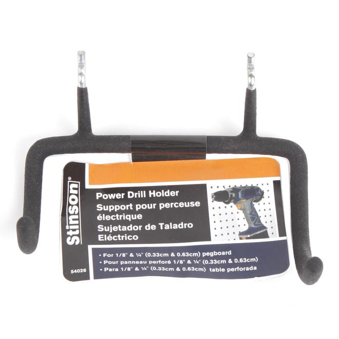 Pegboard Power Drill Holder