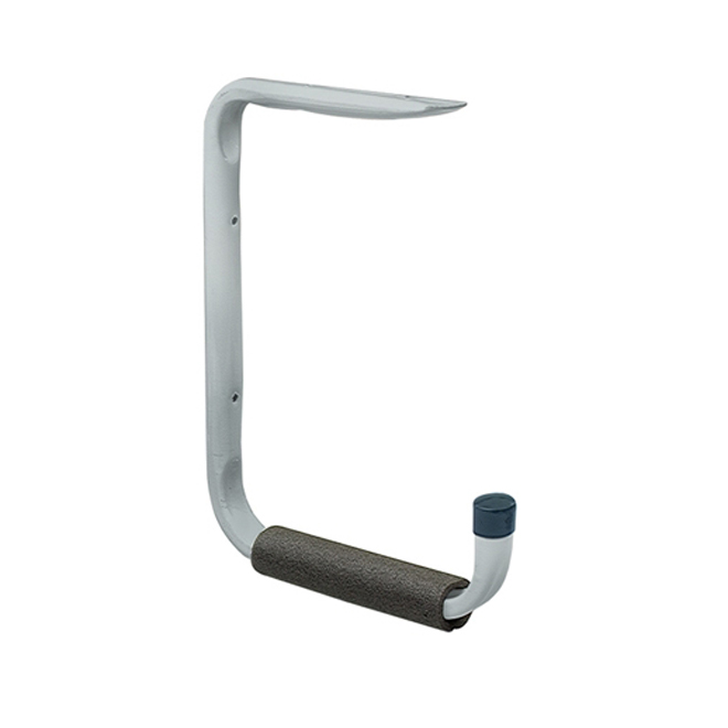 "Shelf & Hanger Hook - 12"" x 16"" - Grey"