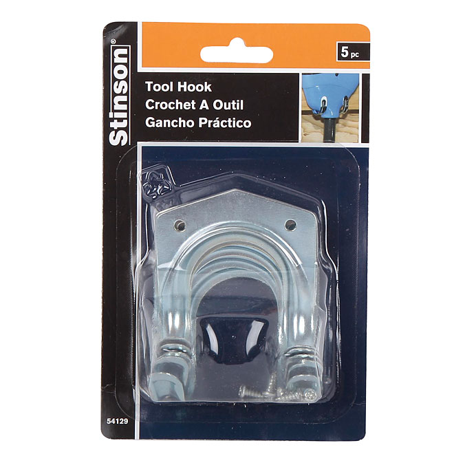 Universal Tool Hooks - Pack of 5