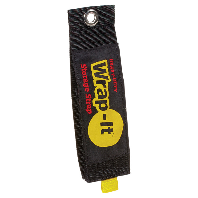 "Heavy Duty Storage Strap - Jumbo - 3"" x 24"" - Black"