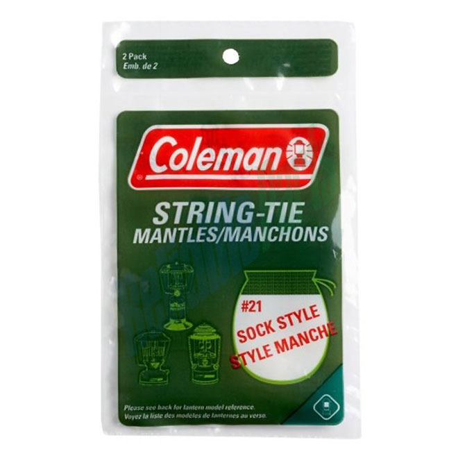 String-Tie Mantle for Camping Lanterns - 2/Pk