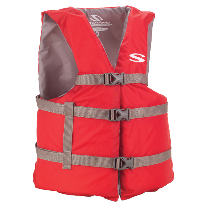 Life Jacket - Adult Size - Red