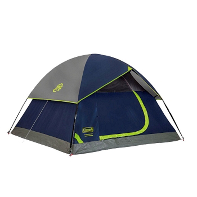 Dome Tent - Sleeps 4 - 9' x 7'
